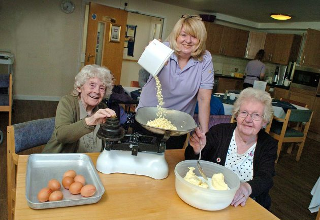 Breme Residential Care Home's residents cook up a storm during bake